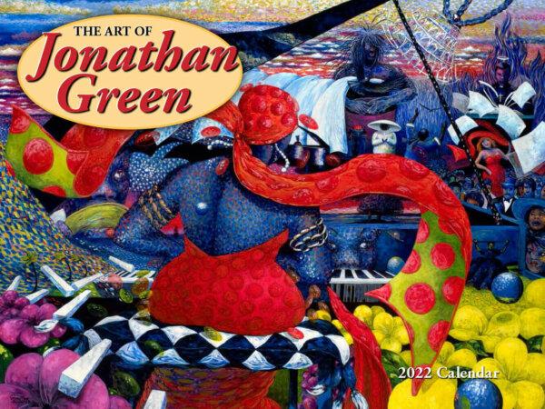 Art of Jonathan Green Wall Calendar
