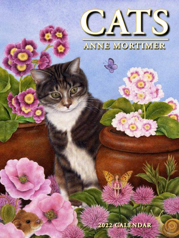 Cats wall calendar