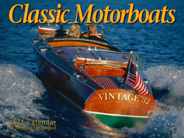 Classic Motorboats Wall Calendar