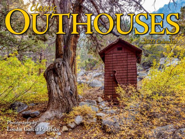 Classic Outhouses Wall Calendar