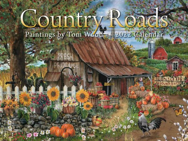 Country Roads Wall Calendar
