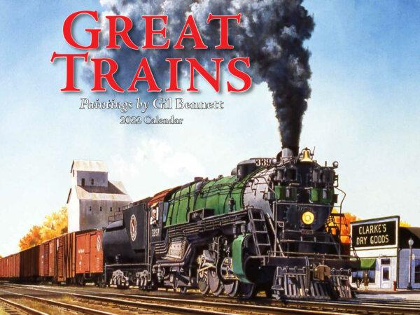 Great Trains Wall Calendar