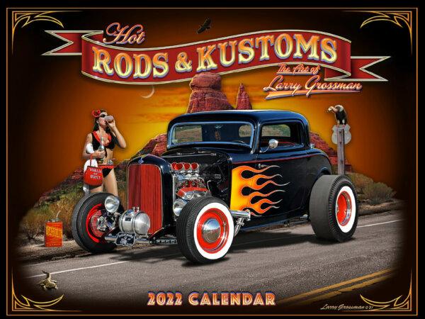 Hot Rods & Kustoms Wall Calendar