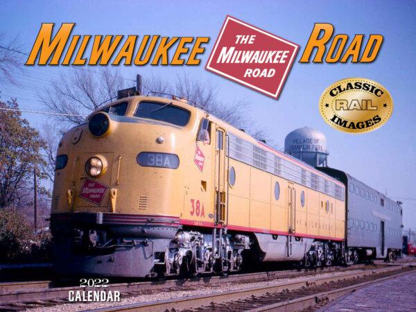 Milwaukee Road Train Wall Calendar