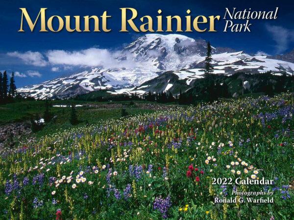 Mt Rainier National Park Wall Calendar
