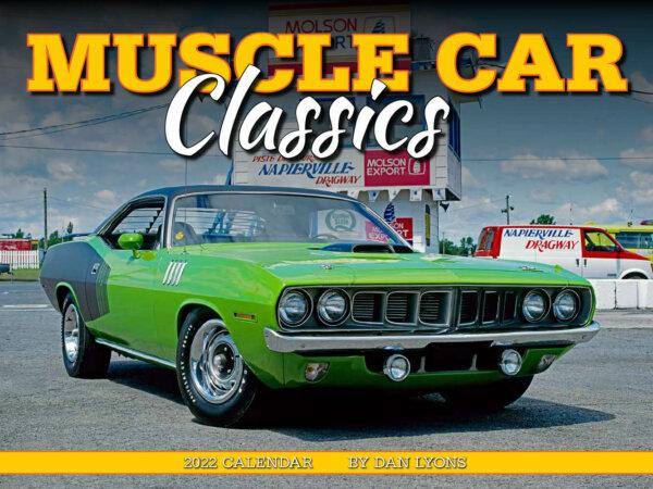 Muscle Car Classics Wall Calendar