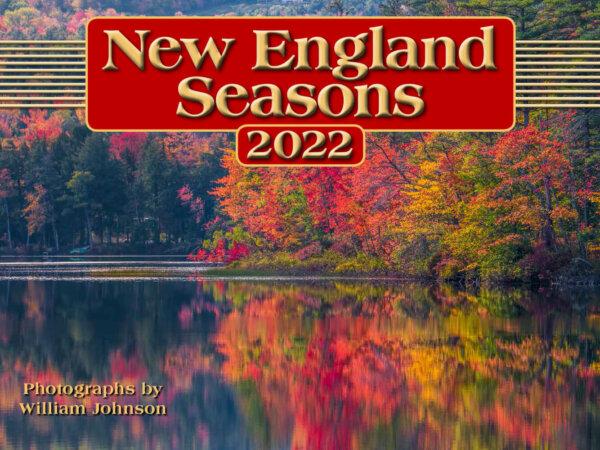 New England Seasons Wall Calendar