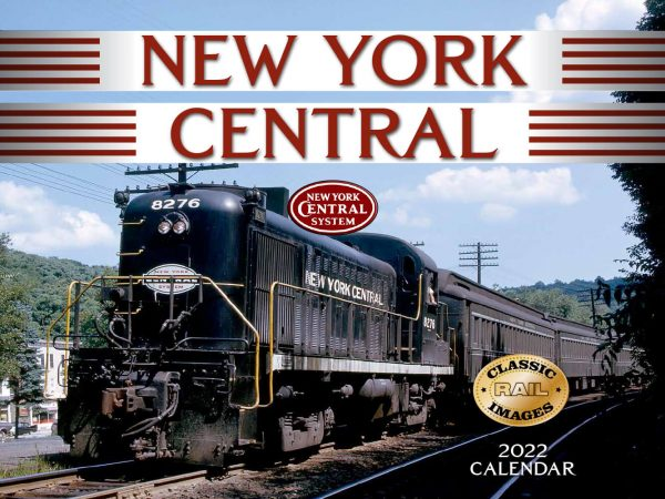 New York Central Train Wall Calendar