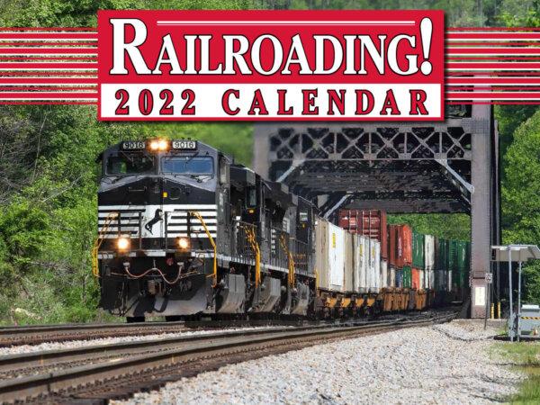 Railroading Wall Calendar