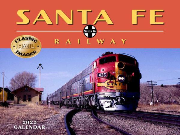 Santa Fe Railway Wall Calendar